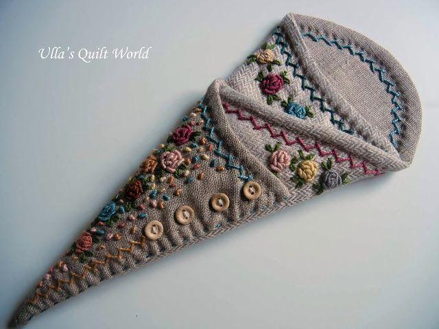 De Ulla Quilt Mundial: Scissor quilt Caso + PATRON