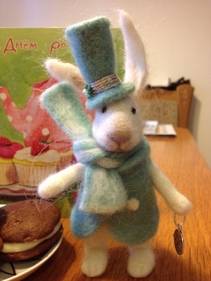 Кролик, валяние