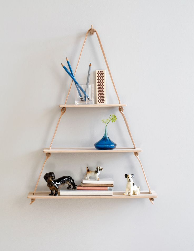 Handmade goods from Danish design company by Wirth who takes leather and oak and crafts simple, yet practical home furnishings.