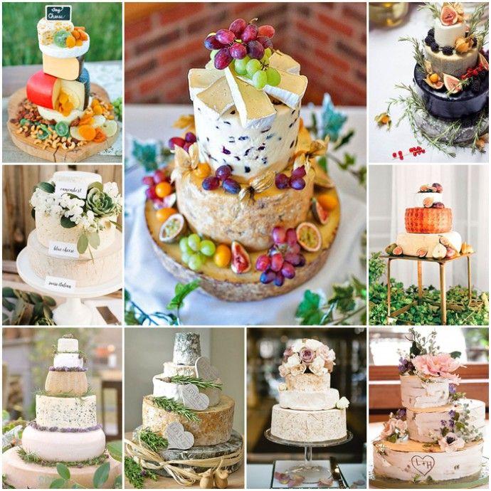 Plutôt qu'une pièce montée avec des choux bien sucrés,pourquoi ne pas opter le jour de votre mariage pour un gâteau à base de fromage...