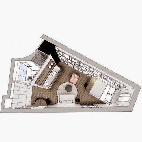 casa del caso: tiny loft in Paris