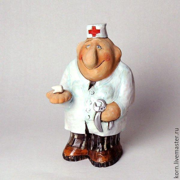 """Купить """"Стоматолог"""", копилка - белый, врач, стоматолог, терапевт, больница, здоровье, медицина, доктор, болезнь"""