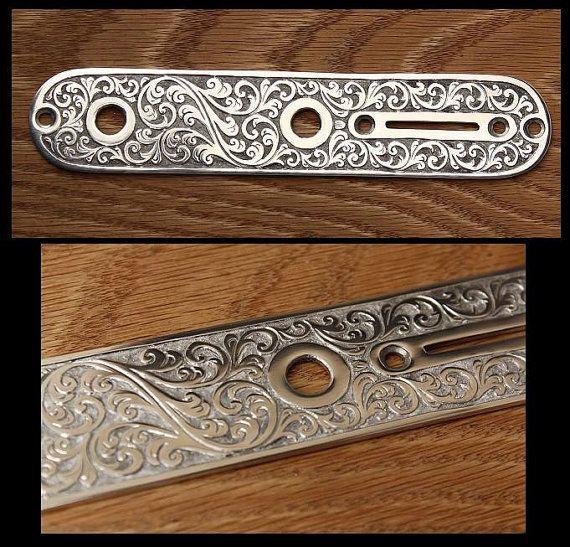 Hand Engraved Custom Metal Control Plate By Ertmermusic On