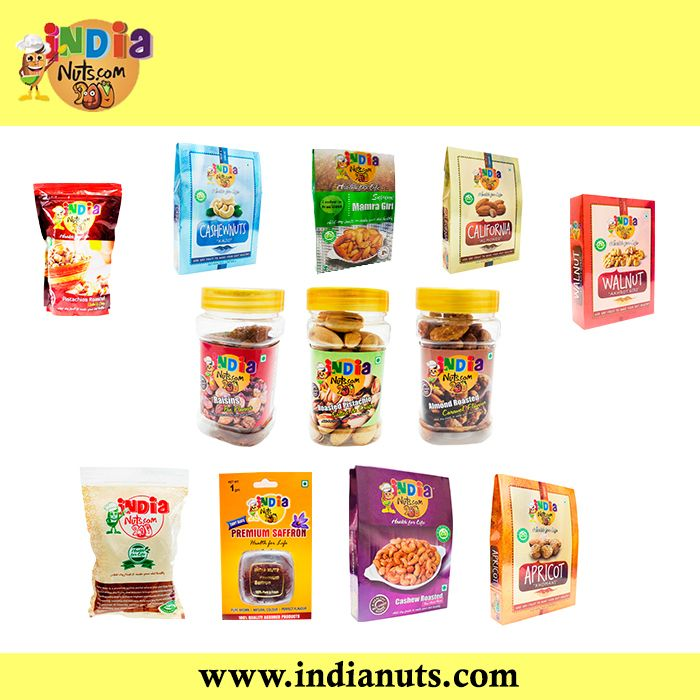 Buy best quality Dry Fruits online at lowest prices in India. Shop for Dry Fruits at online dry fruit store,  Indianuts - India's #1 Dry Fruit Seller  www.indianuts.com