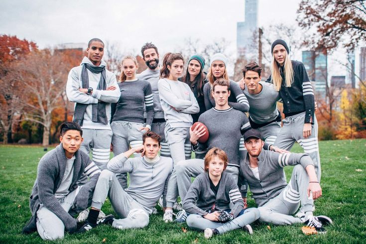 Thom Browne's Central Park Thanksgiving Football Game   2015   Thom Browne's Thanksgiving Football Game–Photos