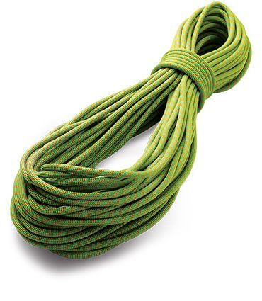 Dynamic single ropes : Tendon Master 9,1 Complete Shield green per metres