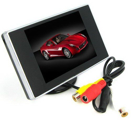 3.5 Inch TFT-LCD Mini Monitor with Pocket-sized Color LCD Display for Car/Automobile Rearview Mirro Monitor by SecurityIng. Save 71 Off!. $18.99. Temperature: - Work: 0 to 80 degrees C. - Storage: -10 to 80 degree C. Power supply: DC 12V. Power consumption: 2W. Color: Black.  What's In The Box: 1 * 3.5 inch TFT LCD car rearview DVD monitor. 1 * User Manual.  ePathDirect After Service: 30 Days Money Back Guarantee, 12 Months Warranty!