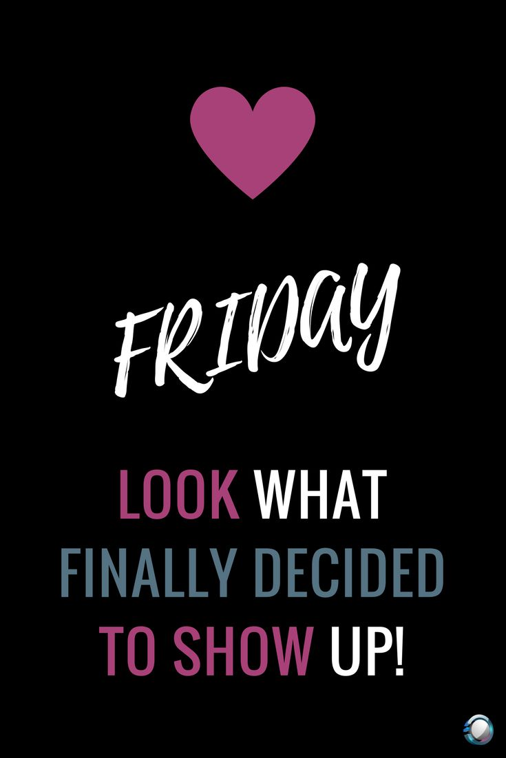 Fri-Yay! Look what finally decided to show up! #supportalservices #fridayfeeling