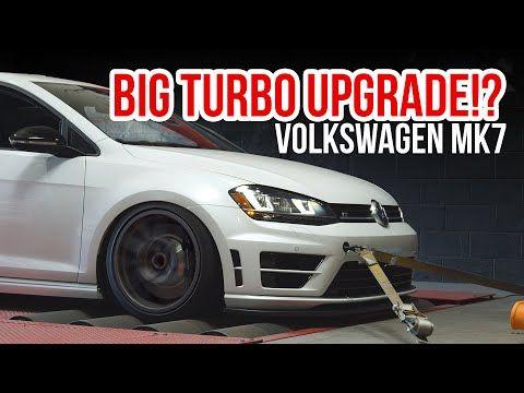 In diesem Video schnallen wir den Volkswagen Golf R MK7 an unseren Mustang Dyno, um viel zu sehen …