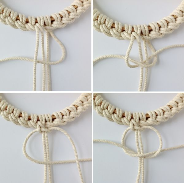 the red thread knotted trivets tutorial steps2