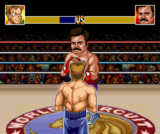 Ron Swanson's Super Punch-Out