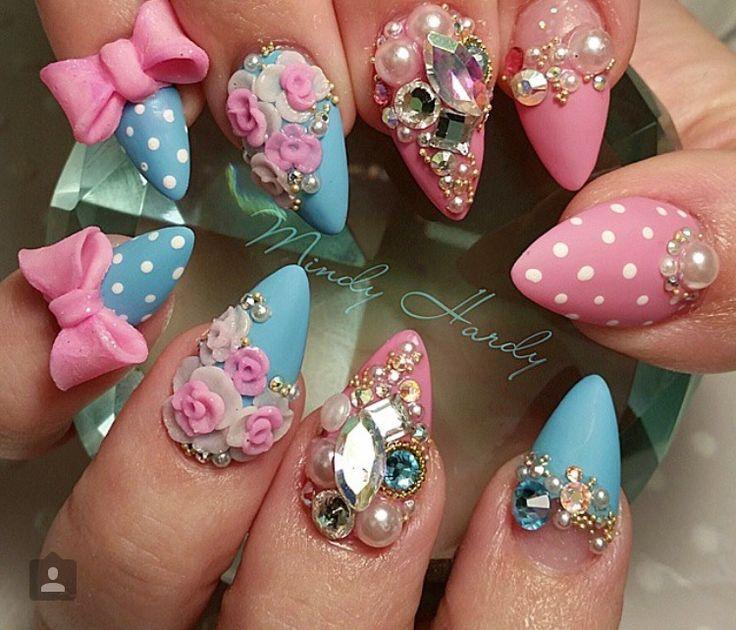 Kawaii 3D Nails