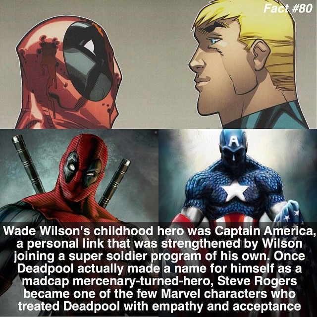 Captain America goes on to invite deadpool to join the Avengers in the comiv series Uncanny Avengers