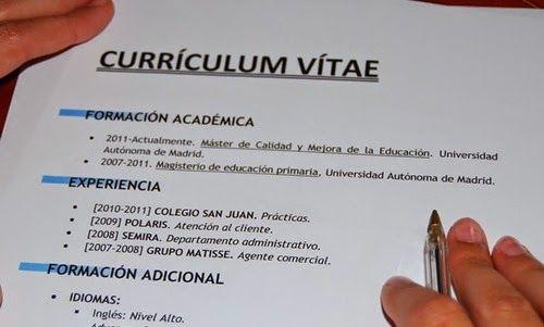 Curriculum Vitae Word