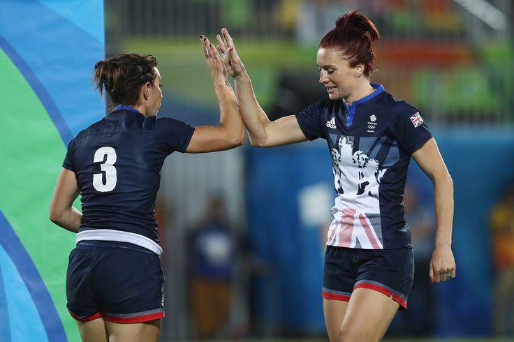 Team GB's Womens Rugby Sevens Team
