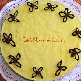 TARTA MOUSSE DE LIMON