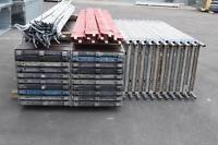 202,62 m² gebrauchtes Gerüst mit Alu-Robustböden Layher MJ Assco Alfix (131120)