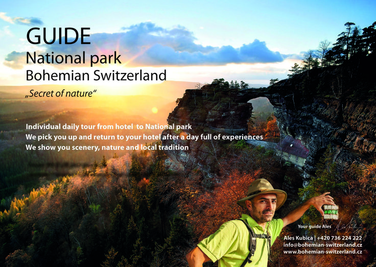 Tour National park Bohemian Switzerland with guide Ales