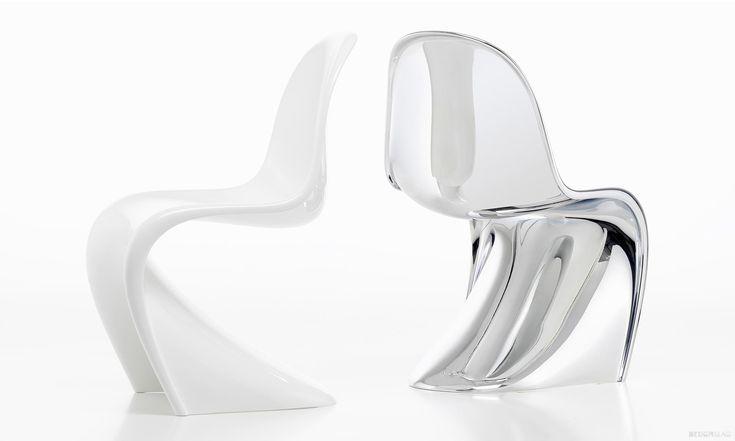 Panton Chair oslavuje 50 let speciální limitovanou svítící achromovou edicí
