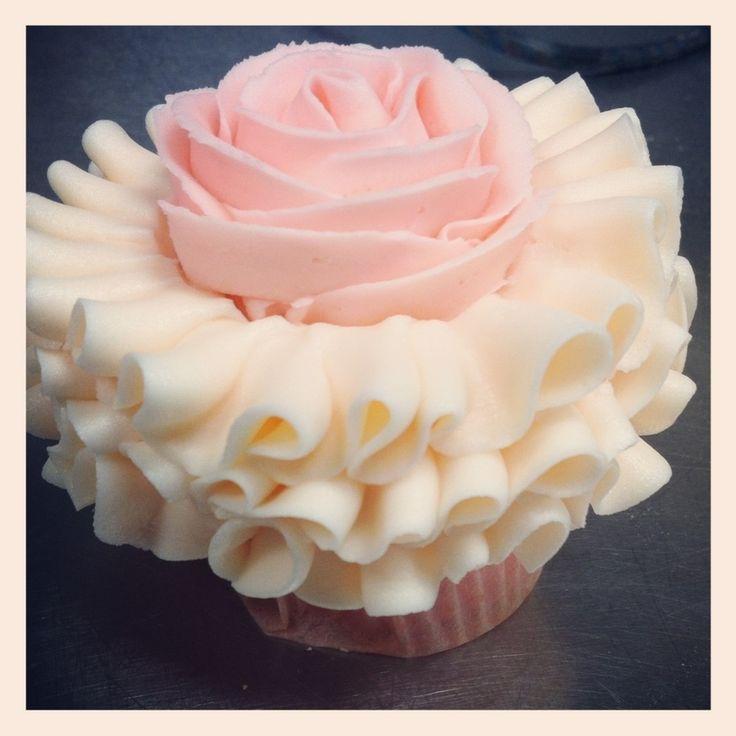 Pink Tutu Ballerina Themed Cupcakes