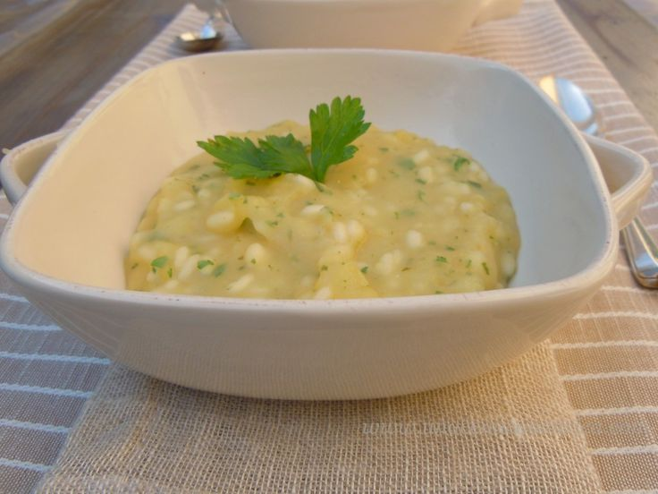 minestra di patate e prezzemolo 009