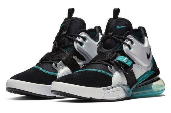 official photos 88367 9d3a6 Nike Air Force 270 White Black Jade Releasing This Summer The Nike Air  Force 270 is