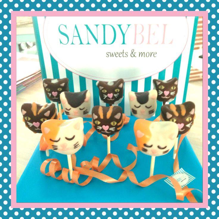 Katzen Cake Pops by #sandybel #cakepops #katzen #nürnberg #sweets #cupcakes #naschkatzen