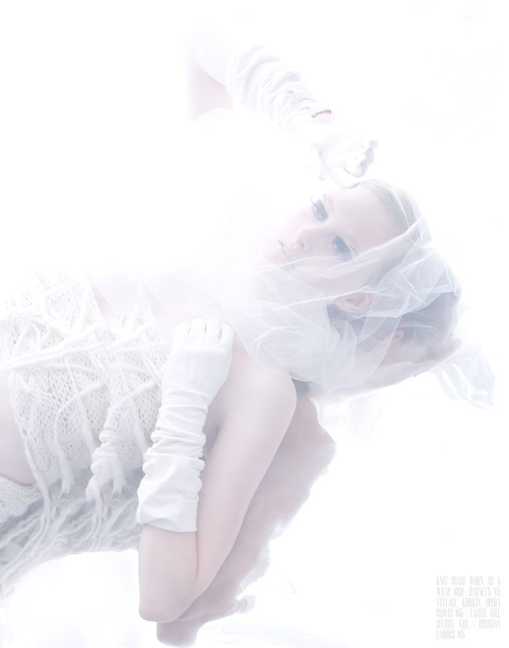 White on White | Maddy | Joshua Alexandre Haines #photography | Bambi Magazine 9