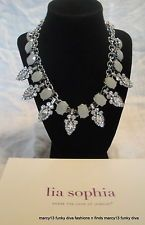 NIB NWT Lia Sophia 2014 Conference Attendee Gifts Gorgeous Double Necklace