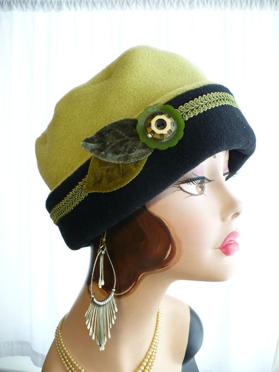 Women's  Polar Fleece Pillbox Lid in Pistachio and by GreatHat, $50.00
