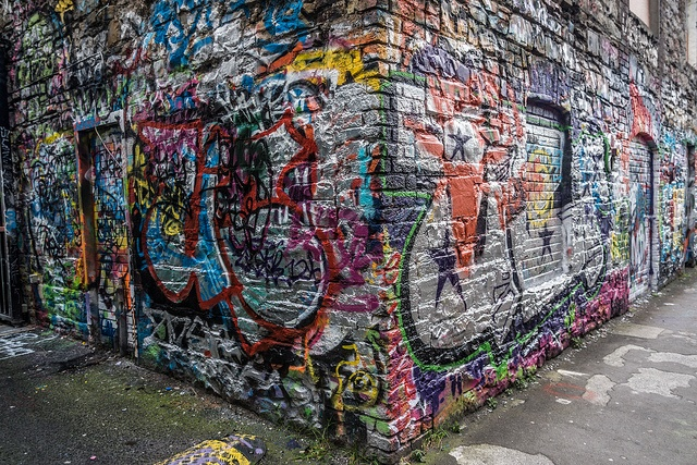 Street Art & Graffiti - Windmill Lane (Dublin) Dublin Street Art. #Dublin #streetart #graffiti #LoveDublin  #art #artist #paint #colour #travel