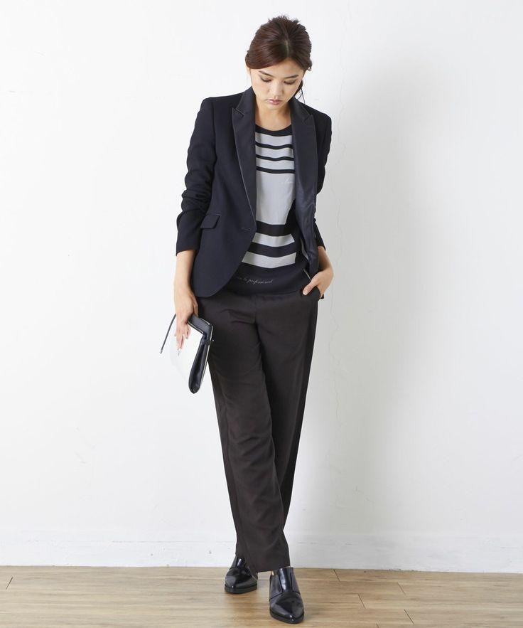 商品画像 - Drape Twill パンツ / ICB(アイシービー)|オンワードグループ公式ファッション通販サイト|ONWARD