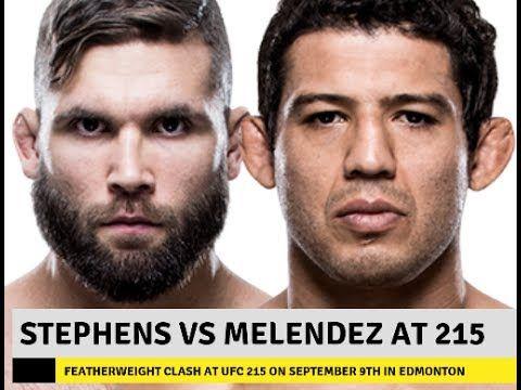 MMA UFC 215: Jeremy Stephens vs Gilbert Melendez targeted for card
