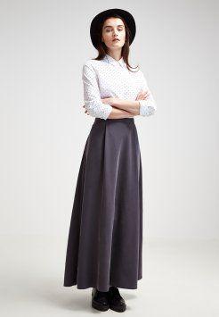 Stefanel - Długa spódnica - grey
