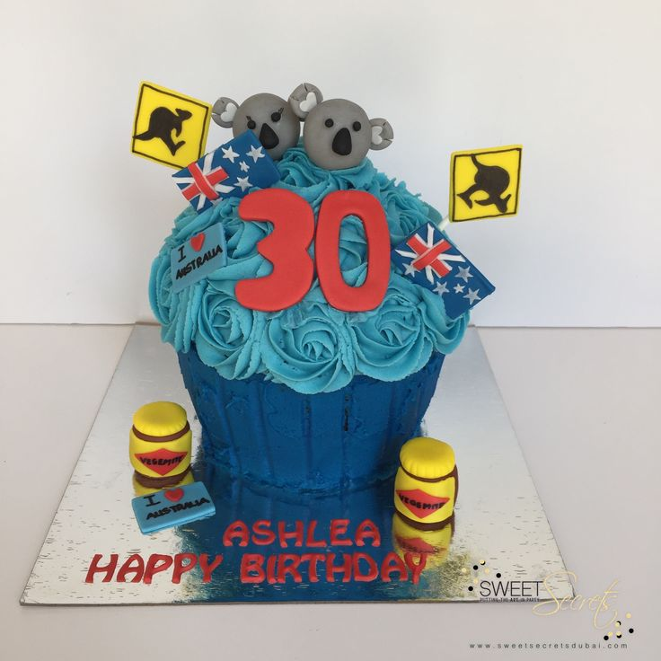 Australia Theme Sweet Secrets, Novelty Cakes Dubai. www.sweetsecretsdubai.com