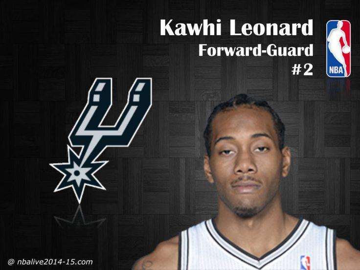 Kawhi Leonard - San Antonio Spurs - 2014-15 Player