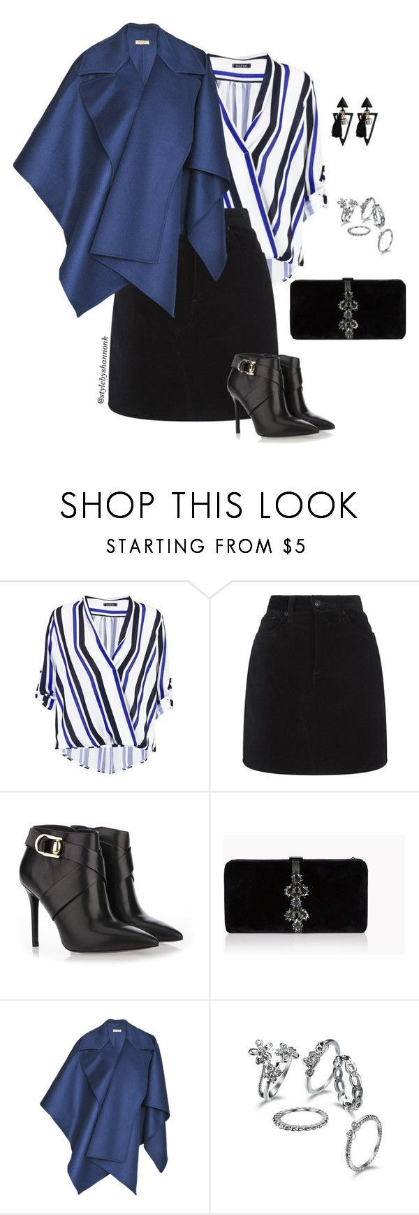 """""""Be Bold"""" by stylebyshannonk on Polyvore featuring Boohoo, rag & bone, Stella Luna, Dsquared2 and Burberry"""