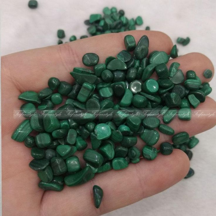 50g Natural Malachite Gravel Bulk Tumbled Stones Crystal Healing Reiki C216 natural stones and minerals