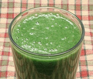 Sweet Spinach Smoothie Daniel Fast