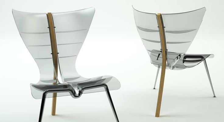 MANTA CHAIR © Dr.HAKAN GÜRSU / DESIGNNOBIS Inspired by Manta fish, Manta Chair has a unique look with its elaborate lines.