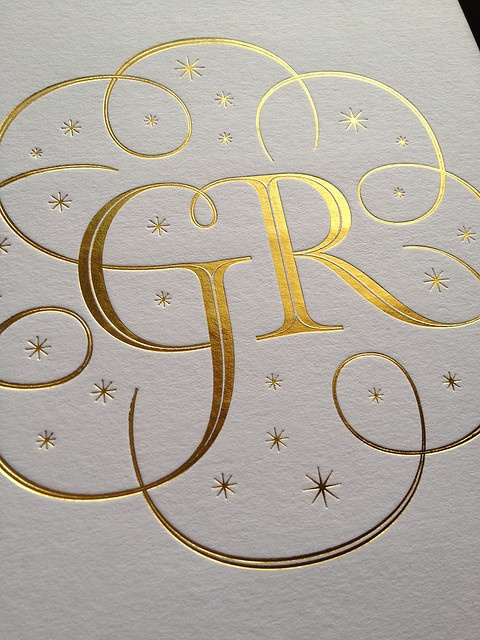 Wedding lettering by Seb Lester, via Flickr