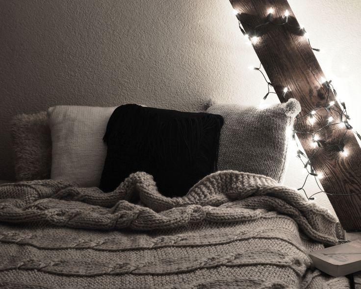 All You can find on http://pl.dawanda.com/shop/manufakturababciwladzi #pillow #bed #blanket #bedroom #lights #knitting #knit