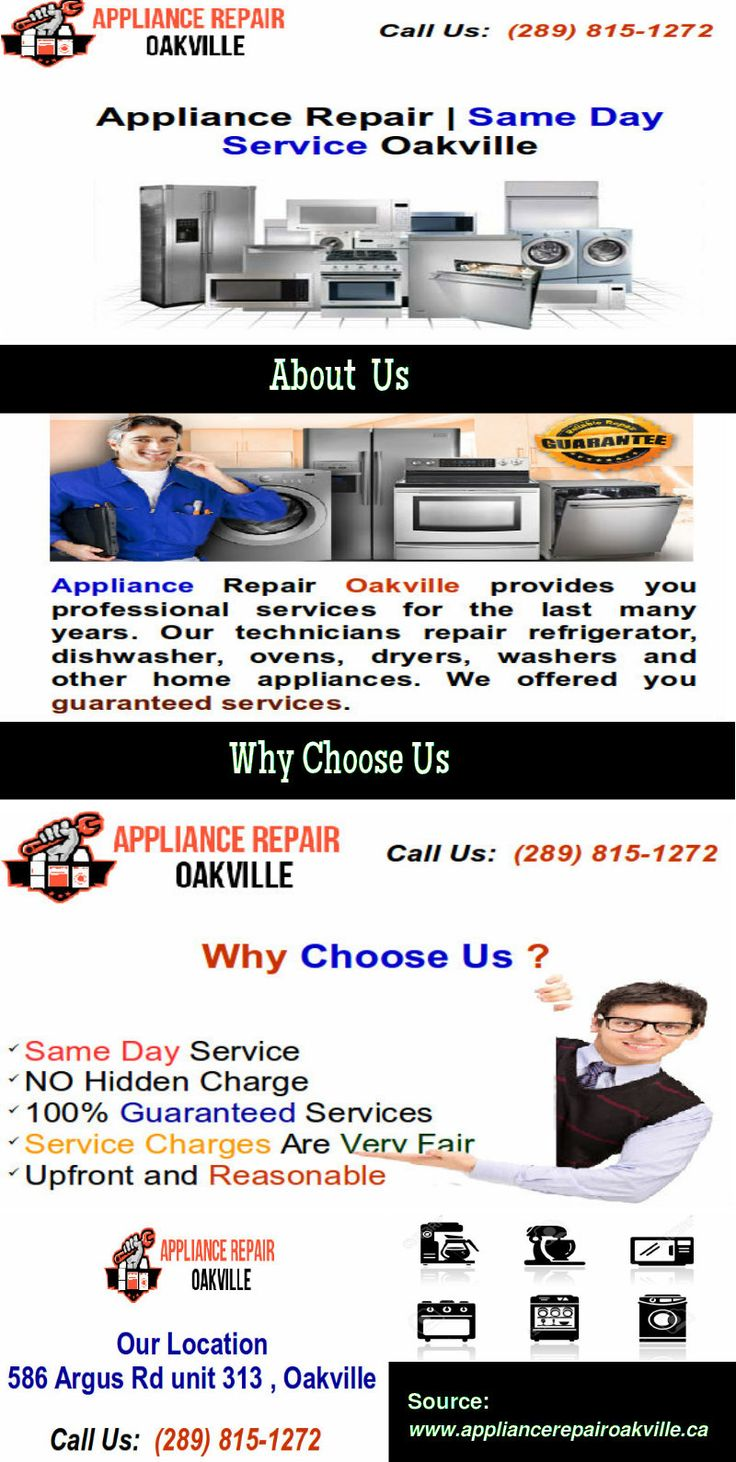 Ge Dishwasher Repair Service 17 Best Oakville Home Appliance Repair Service Parts Images On