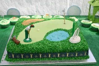 Just too random: Golf Birthday Cake