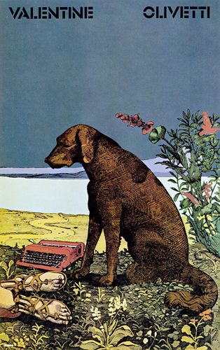Olivetti Valentine, Milton Glaser, 1969