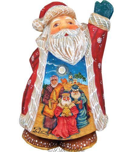 Derevo 3 Kings Santa