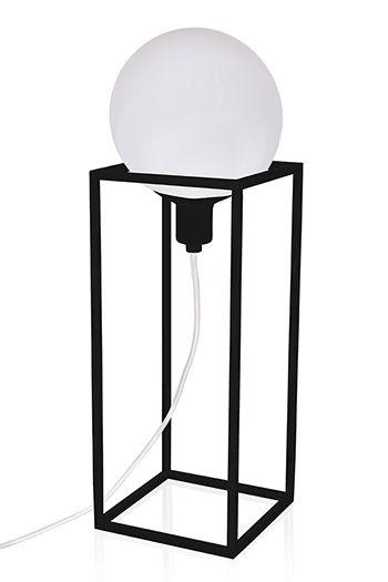 Настольный светильник Cube XL  - дизайнерский светильник, шведский дизайн, стиль. Металлический каркас. Разные цвета и размеры.