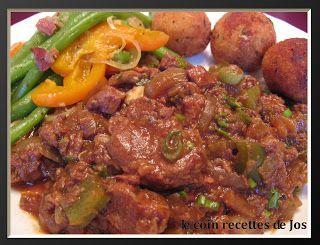 Le coin recettes de Jos: BIFTECK À LA CAJUN (MIJOTEUSE)