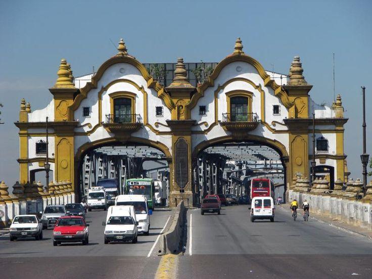 Puente Alsina, entre Capital y Provincia de Buenos Aires, Argentina
