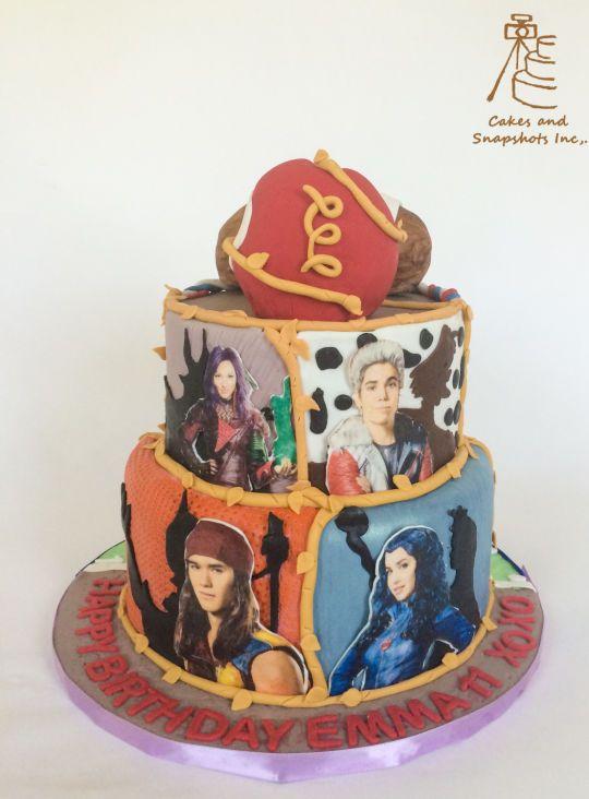 descendants cake - Google Search Party Ideas Pinterest ...